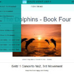 The Dolphins - Book 4 Seitz to Bach Double and more